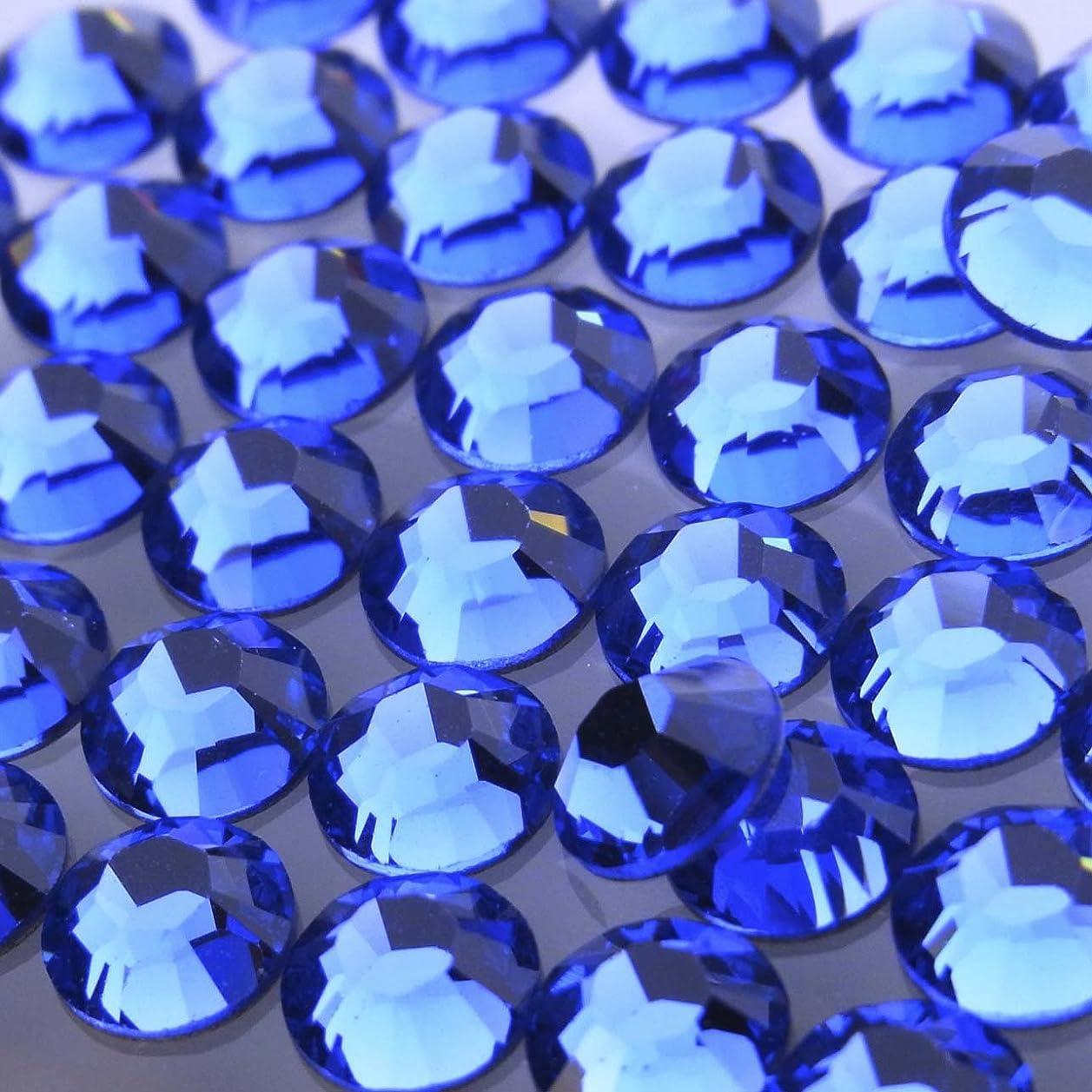 阻害する割れ目チャンピオンシップHotfixサファイアss16(100粒入り)スワロフスキーラインストーンホットフィックス