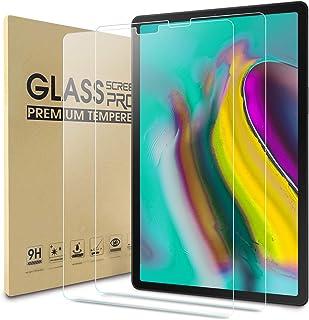 WD & CD 2-pack härdat glas film kompatibel med Samsung Galaxy Tab S5e 10,5 / S6 10,5 , skärmskydd ersättning för SM-T720/S...