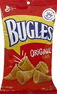 Bugles Original Flavor Corn Chips Bag, 7.5 oz