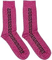 Metallic Effect Socks