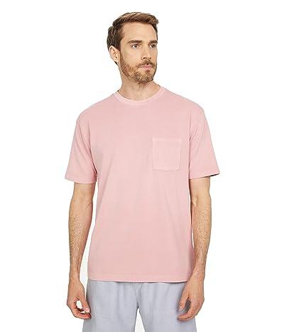 Scotch & Soda Organic Cotton Garment-Dyed Pique Crew Neck T-Shirt