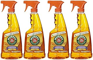 Murphy Oil MultiUse Wood Cleaner Spray with Orange Oil 22 oz (Pack of 4)