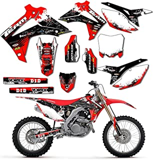 Team Racing Graphics kit compatible with Honda 2013-2016 CRF 450R, SCATTER