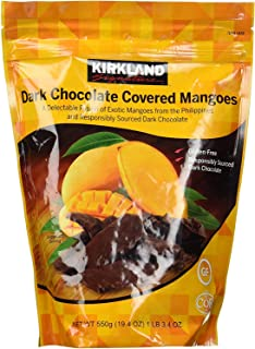 Kirkland Signature Dark Chocolate Covered Mangoes, 19.4 Oz