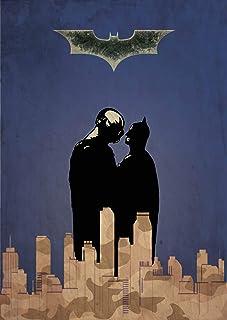 Batman The Dark Knight Rises Minimalist Poster Superhero Alternative Print A Christopher Nolan Movie DC Comics Tom Hardy B...