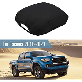 Seven Sparta Console Cover Replacement for Toyota Tacoma 2021 2020 2019 2018 2017 2016, Waterproof Neoprene Armrest Cover Protector