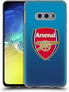 Official Arsenal FC Away 2017/18 Crest Kit Soft Gel Case Compatible for Samsung Galaxy S10e
