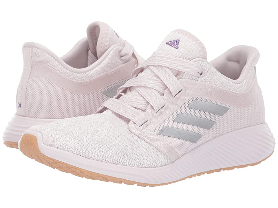 adidas Kids Edge Lux 3 (Big Kid) (Orchid Tint/Cloud White/Silver Metallic) Girls Shoes