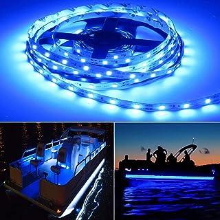 Seapon Pontoon Boat Light, Marine Led Light Strip for Duck Jon Bass Boat Sailboat Kayak,..