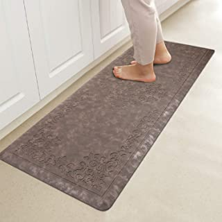 HEBE Kitchen Mat Cushioned Anti-Fatigue Floor Mat Runner Waterproof Non-Slip Standing Mat Ergonomic Comfort Floor Mat Rug ...