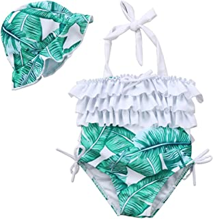 baby and toddler matching swimsuits