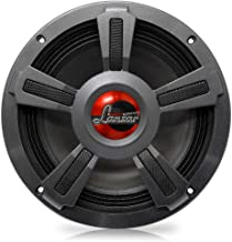 """Lanzar Upgraded 8"""" High Performance Mid Bass - Powerful 800 Watt Peak 90Hz – 10 kHz Frequency Response 39 Oz Magnet Structure and 8 Ohm w/ Paper Cone and Foam Surround Full Range Speaker - OPTI8M-8"""