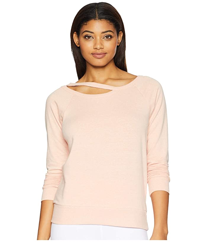Jockey Active Lean in Sweatshirt (Coral Reef) Women