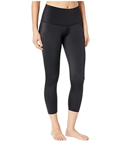 Beyond Yoga Compression High Waisted Capri Leggings (Black) Women