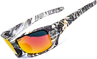 AOKNES Polarized Sports Sunglasses for Men Women Cycling Fishing Golf Tr90 Durable Frame