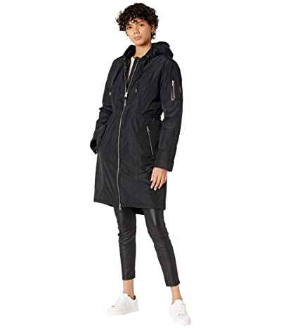 MACKAGE Casey Light Down Parka (Black) Women