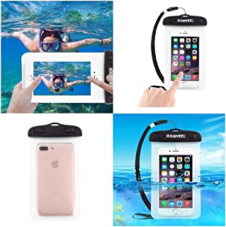 DFV mobile - Universal Protective Beach Case 30M Underwater Waterproof Bag for VODAFONE Smart 4 Mini, VF-785 - Transparent