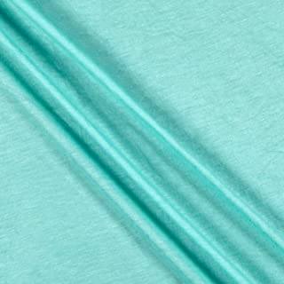Lavitex Rayon Jersey Knit Solid Fabric, Mint, Fabric By The Yard