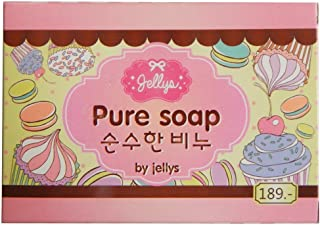 Jellys Pure Soap Body Whitening Vitamin E White Aura Reduce Dark Spot Anti Aging 1 bar 100 g. Ship from USA arrive you within 5 days