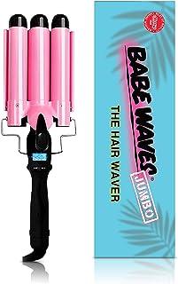 Babe Waves Limited Limited Wand Curling Wand   بشکه سه تکه تکان دهنده   علائم تجاری زیبایی مو دو ولتاژ موج دار با بشکه های 28 میلی متر