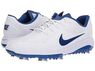 Nike Golf React Vapor 2 (White/Indigo Force/White) Men