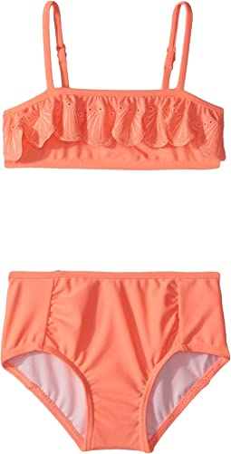 Seafolly Kids Sweet Summer Frill Mini Tube Bikini Set (Infant/Toddler/Little Kids)