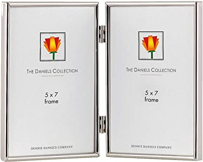 Classic TRIMLINE silverplate hinged duo by Dennis Daniels® ...