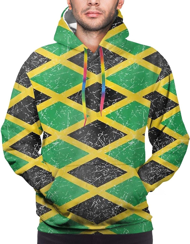 Hoodie For Teens Boys Girls Jamaica Flag Hoodies Fashion Sweatshirt Drawstring