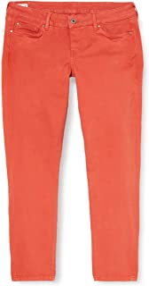 Pepe Jeans ROSEVELT Red Vaqueros Skinny para Mujer