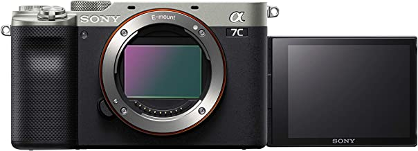 Sony Alpha ILCE-7C Compact Full Frame Camera (4K, Flip Screen, Light Weight, Real time Tracking, Content Creation) - Silver