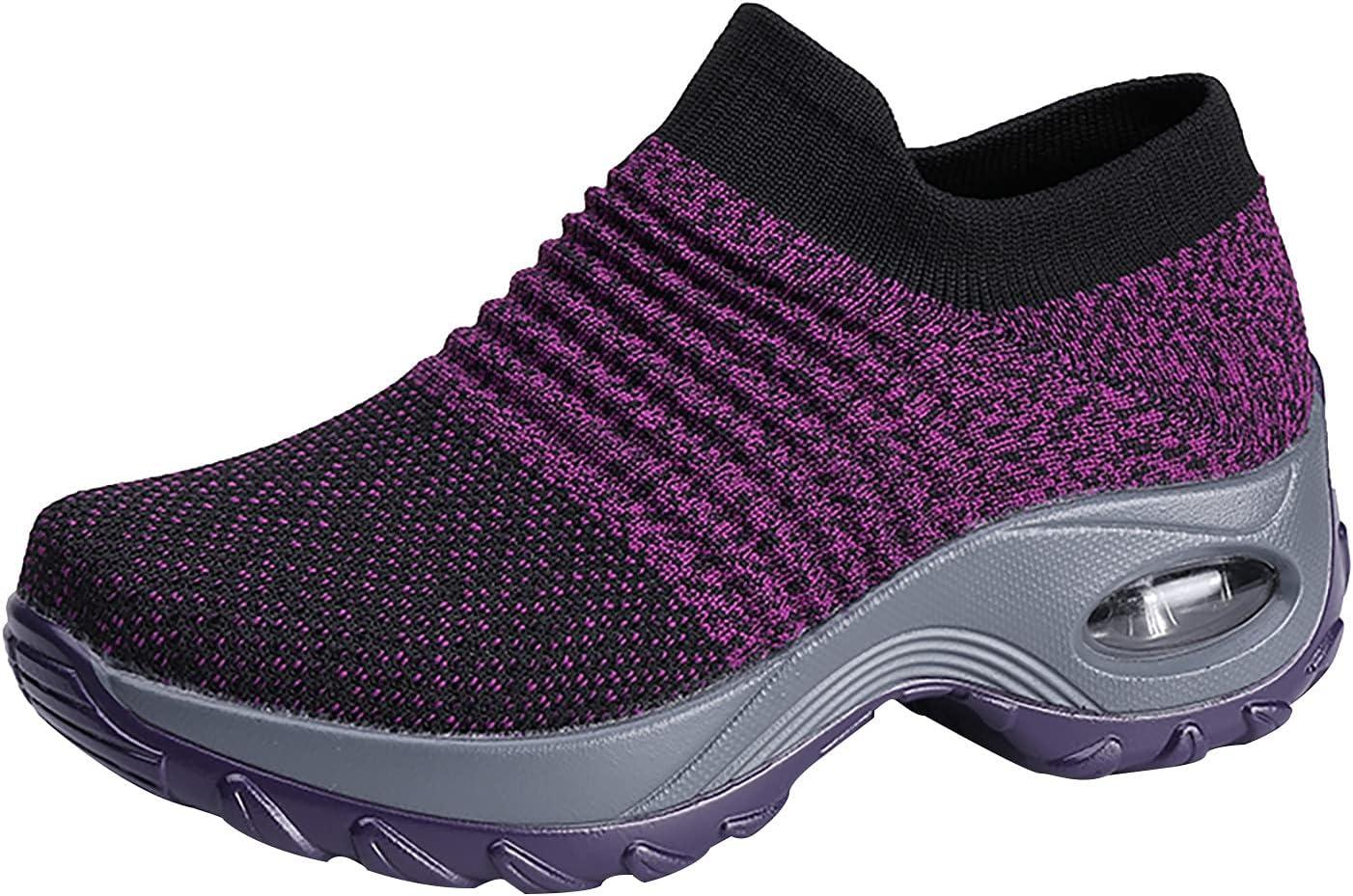 FlekmanArt Womens Super intense SALE Fashion Mesh Classic Sock Outdoo Platform Casual Shoes
