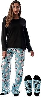 Ultra-Soft Women's Pajama Pant Set - Nightgown with Matching Socks