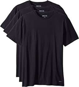 3-Pack Classic Fit Crew Neck Tee