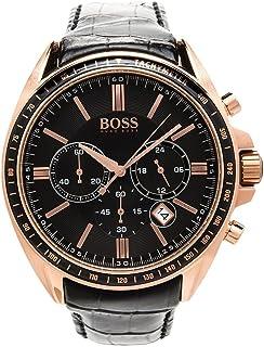 ساعة رجالية من هوجو بوس بسوار ستانلس ستيل , كرونوجراف - 1512883