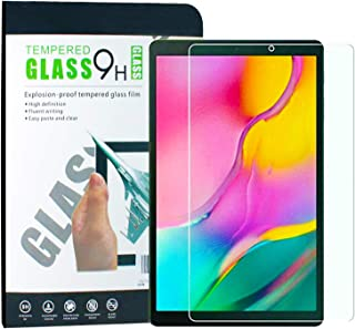 TERSELY Screen Protector Glass for Samsung Galaxy Tab A 10.1 T515/T510, Premium 9H Hardness HD Tempered-Glass Film Screen ...