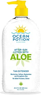Ocean Potion Aloe After Sun Lotion-20.5 oz, Package may vary