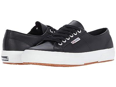 Superga 2750 Nappaleau Sneaker (Black 2) Women