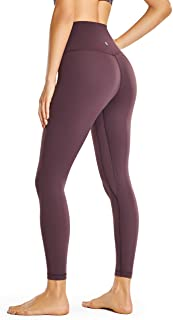 CAROVIA Women's High Waisted Leggings Workout Yoga Pants Tummy Control 25 Inches