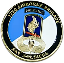 Art Crafter The USA Army 173D Airborne Brigade Challenge Coin Badge A021J