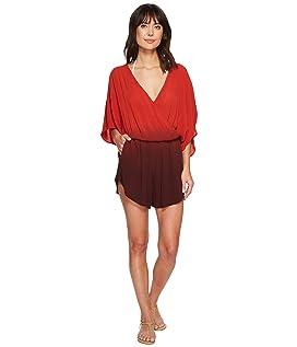 Take A Dip Eliza Kimono Sleeve Romper