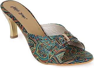 Adjoin Steps Printed Kitten Heels Women's and Girls