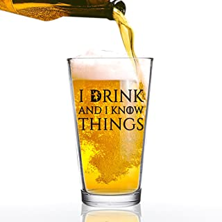 Best i drink and i know things glass Reviews