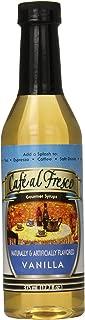 Café Alfresco Sugar Free Gourmet Syrup, Vanilla, 12.7 Ounce (Pack of 12)