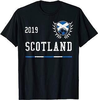 Scotland Football Jersey 2019 Scottish Soccer T-shirt