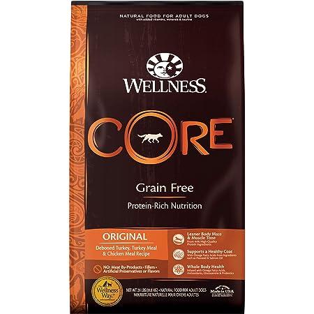 Wellness CORE Natural Grain Free Dry Dog Food, Original Turkey & Chicken