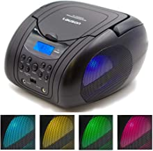 Lauson CP555 Boombox with Cd Player Mp3 | Portable Radio CD-Player Stereo with USB | Cd..