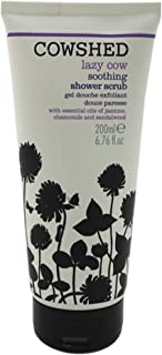 Cowshed Lazy Cow Soothing Shower Scrub for Women, 6.76 Ounce