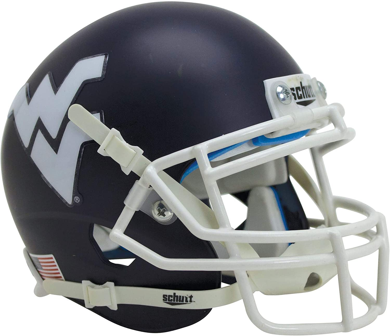 Schutt NCAA West Virginia Mountaineers XP Helme Super Special SALE held Football Replica Genuine Free Shipping