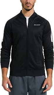 BALEAF Men's Active Fleece Track Jacket Running Training Basic Outerwear