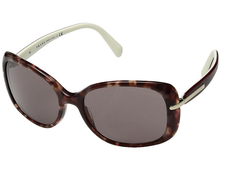 Image of Prada 0PR 08OS (Pink Havana/Brown) Fashion Sunglasses